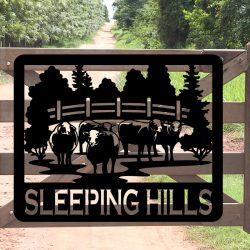 Property Sign 3 - Sleeping Hills